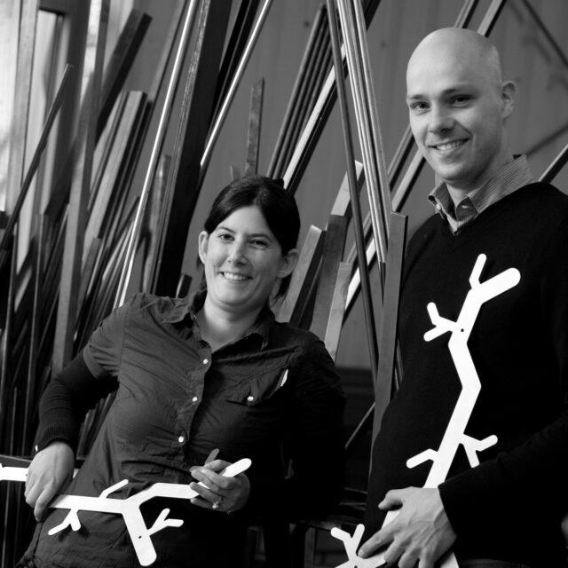 van Esch designer Alissia Melka Teichroew & Jan Habraken