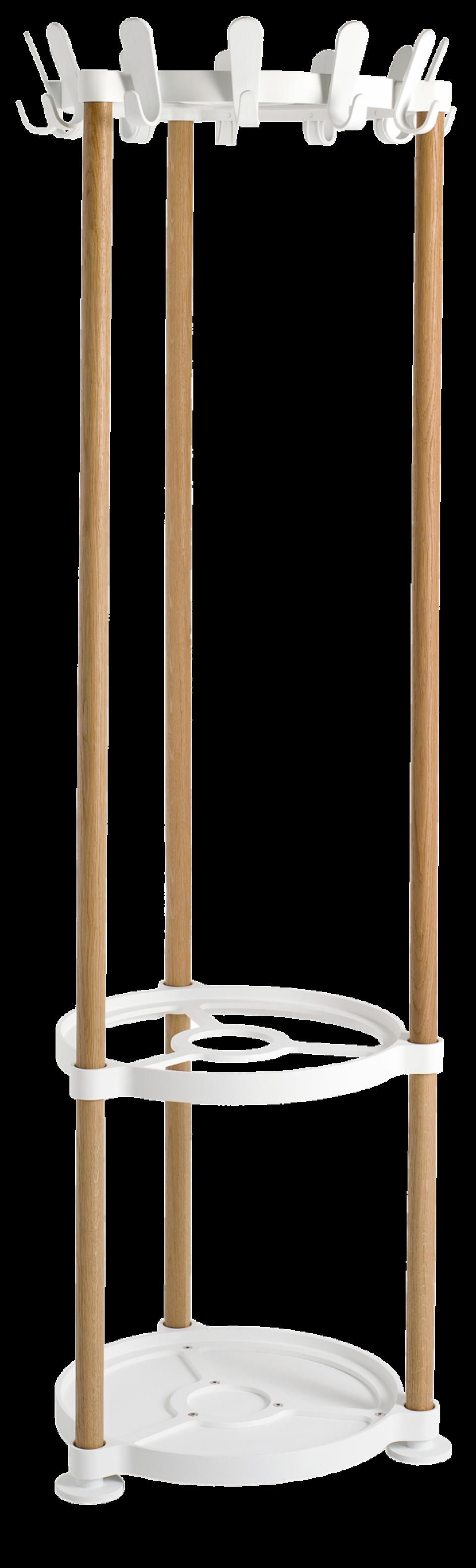 van Esch coat rack Sticks Round