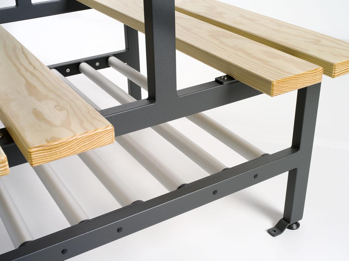 van Esch bench Tertio BDVS+