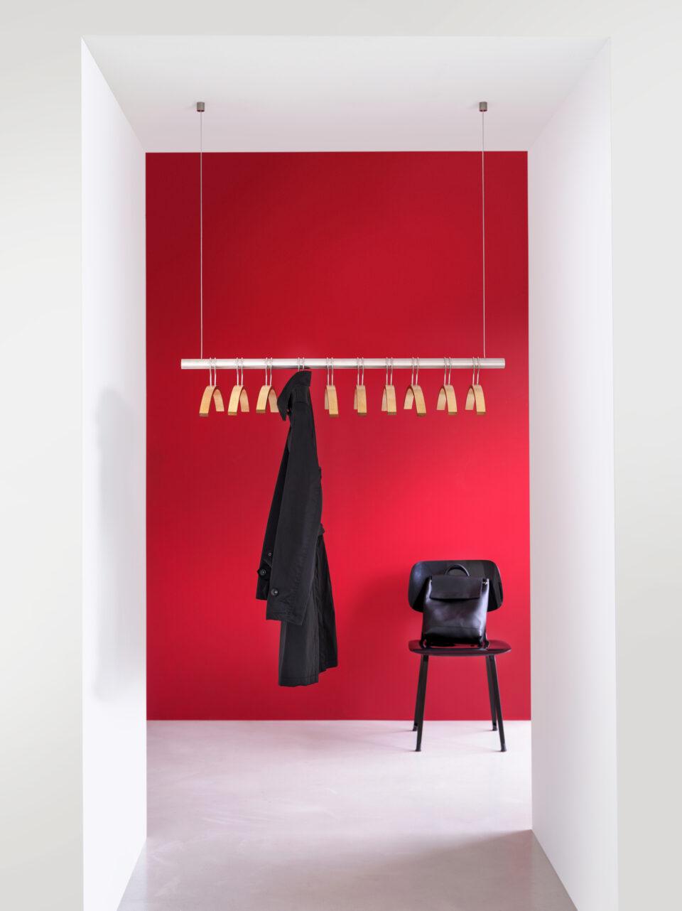 van Esch coat hanger Tubulus 80